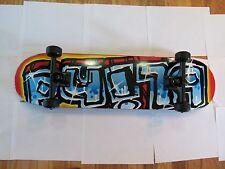 blind skateboard blue griptape with thunder trucks great condition