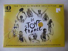The Tour De France Collection 6 DVD Box Set Official History & Legends New