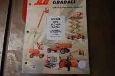 Jlg Gradall Dvl Dvsp Veritcal Forklift Service Repair Owner Maintenance Manual