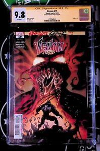 Venom #19 Kyle Hotz 9.8 CGC SS Donny Cates Auto Knull Carnage Maker Marvel Comic