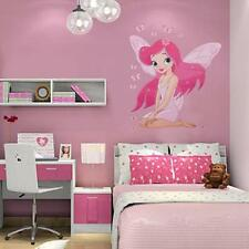 Girls Baby Fairy Princess Butterfly Decal Kids Room Wall Stickers Bedroom Decors