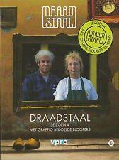 Draadstaal - Seizoen 4   dvd  Jeroen van Koningsbrugge en Dennis van de Ven