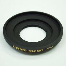 ELEFOTO C mount lens to Micro 4/3 MFT camera adapter GH4 OM-D GX7 G6 E-PL7 M5 II