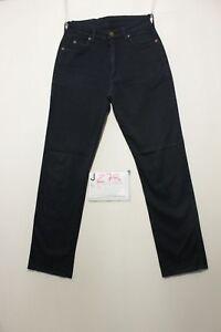 Lee Dallas (Cod. J278) IT 42 W28 L31 jeans usato boyfriend vintage Blu scuro