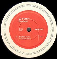 JD & MARIAH CAREY - Sweetheart (Double Pack Promo) - 1995 Columbia Uk - XPR 2448