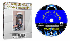 Service Manuals For Corgi Gas Boiler Heater & Plumbing DVD