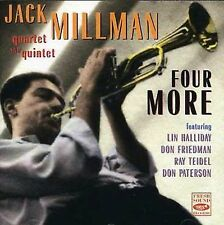 Jack Millman - Four More  (CD, Fresh Sound (Spain) New and Sealed