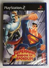 PS2 Superman: Shadow of Apokolips (2002), UK Pal, Brand New & Factory Sealed