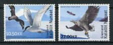 Greenland 2017 MNH Birds JIS FSAT TAAF 2v Set Eagles Petrels Terns Stamps