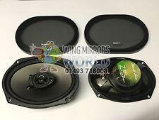 Phoenix Gold Z69CX Z Series 6x9 3 Way Car Shelf Coaxial Speakers 55w RMS