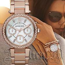 Original Michael Kors reloj fantastico mk5616 mini Parker color: Rose oro pedrería nuevo