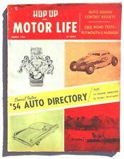 Vtg Hot Rat Rod Car Magazine - March 1954 Motor Life (54' Auto Directory)