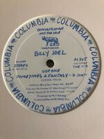 "BILLY JOEL Sometimes A Fantasy/ All For Léyna USA WHITE LABEL PROMO 12"" RARE NM"