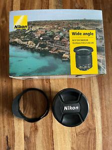 Nikon af-p dx nikkor 10-20 mm