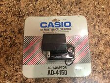 Vintage NOS CASIO AC Adapter AD-4150 for Casio Electronic Printing Calculators