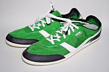 Newfeel Fashion Designer Men's Sport Trainers Lace Up Green Synthetic 7 UK 41 EU