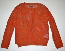 Vans Womens Maynard Cable Knit Long Sleeve Fashion Sweater Top Medium