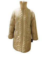 Guess Winter Mashmallow Thick Coat Jacket Women Size L Knitted Decor
