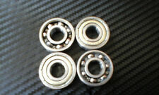 M10 King pin bearing kit, 4x M10 Go kart bearings, suit ARROW CRG PCR TONY