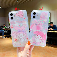 Cute Melody Quicksand Phone Case Cover For Apple iPhone 12 XR 11 7 8 XS SE(2020)