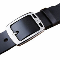 "Fashion Casual Mens Belt for Jeans Genuine Leather Belts Big Waist 30""-63"""