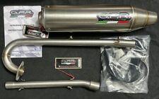 GPR Deeptone Sportauspuff Komplettanlage für Kymco Maxxer 300
