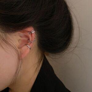 1pc Women Earrings Clip Ear Stud Cuff Stud Wrap Cartilage Jewelry Girl Gift