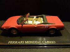 Ferrari Mondial Cabrio Convertible Type F108 1982 Collection in Showcase 1/43