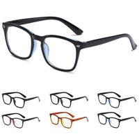 Women Men Large Oversized Frame Clear Lens Vintage Glasses Square Eye Glasses