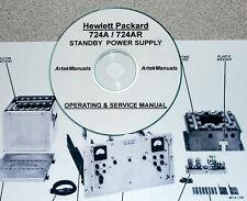 Hp Hewlett Packard 724A 724Ar Standby Power Supply Operating & Service Manual