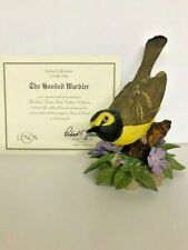 Lenox 1997 Hooded Warbler Fine Porcelain Figurine with Certificate