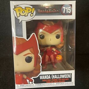 Funko Pop Marvel Wandavision Wanda Halloween Figurine #715 New In Hand