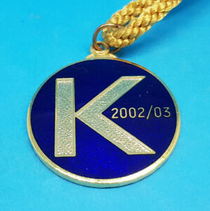Kempton Park Horse Racing Members Badge - 2002 / 2003