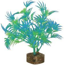 GloFish Plant Aquarium Decor Blue & Green S 5.5 inch Aqua heavy weighted decor