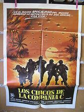 A2608 LOS CHICOS DE LA COMPAÑIA C FUTBOL GUERRA VIETNAM