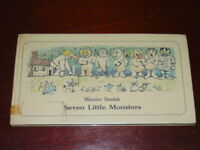 Seven Little Monsters Sendak, Maurice  Published by The Bodley Head London 1977