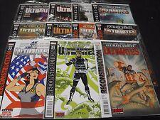 Ultimates 20-30 Marvel Comic Run 20 21 22 23 24 25 26 27 28 29 30 11 Comics