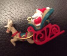 Hallmark Santa's Journey Begins 2000 Miniature Ornament New In box