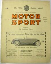 "October Motorsport Cars, Pre-1960 Magazines"""