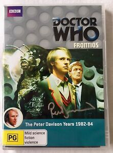 Doctor Who: Frontios DVD - Hand Signed By Peter Davison