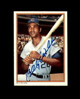 Billy Williams Hand Signed 1985 Circle K Chicago Cubs Autograph