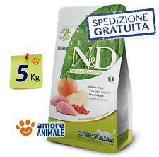 Farmina N&D Grain Free Cinghiale e Mela 5 Kg ^^ Crocchette per Gatto e Gatti