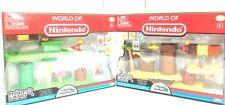Nintendo Super Mario Bros U Micro Acorn Plains+ Layer Cake Desert DELUXE SET++