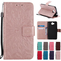 For Huawei Y5/Y6/ Prime 2018/Nova 2 Lite Wallet Flip PU Leather Stand Case Cover