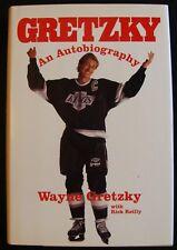 1990 GRETZKY: AN AUTOBIOGRAPHY BY WAYNE GRETZKY & RICK REILLY - HARDCOVER