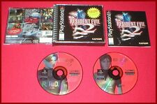 Resident Evil 2 for the Sony Playstation 1 PS1 System Complete!