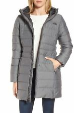 THE NORTH FACE WOMEN GOTHAM II DOWN PARKA JACKET GREY NEW SIZE SMALL