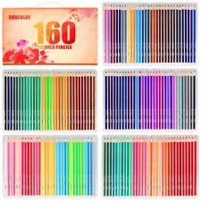 Soucolor 160 Colored Pencils Set Artist Drawing Coloring Pencils for Adult