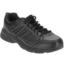 Athletic Works Men's Black Lightweight Sports Running Shoes 8 1/2