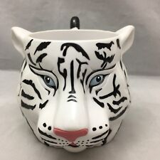 White Tiger Coffee Mug Ringling Brothers Greatest Show On Earth Plastic White